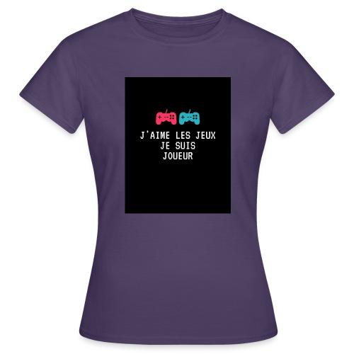 JEU - T-shirt Femme