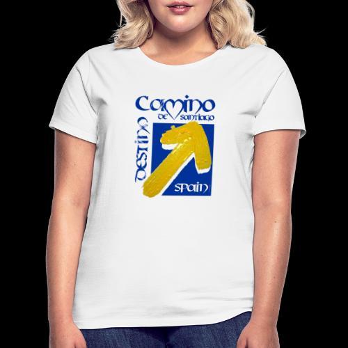 Camino de Santiago Spain, Destino, Jakobsweg - Frauen T-Shirt