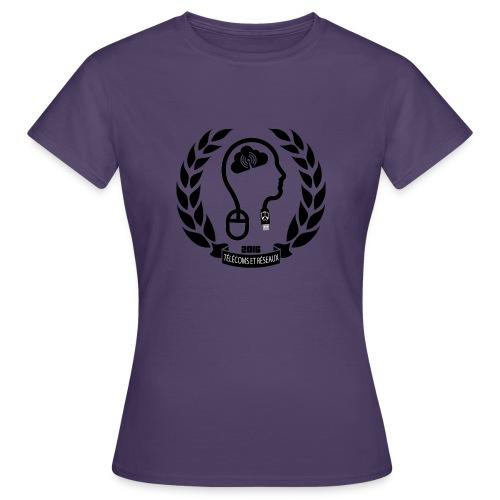télécoms et réseaux - T-shirt Femme