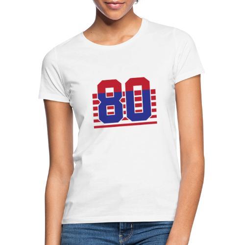 80 Stripes - Maglietta da donna