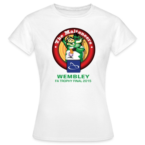 Malteneers Green Text - Women's T-Shirt