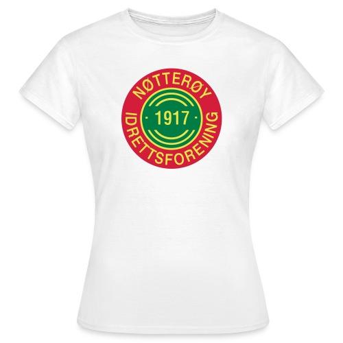 Nøtterøy if - T-skjorte for kvinner