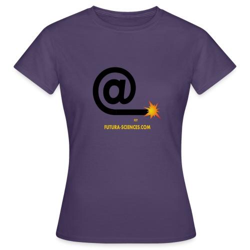 arobase meche jaune - T-shirt Femme