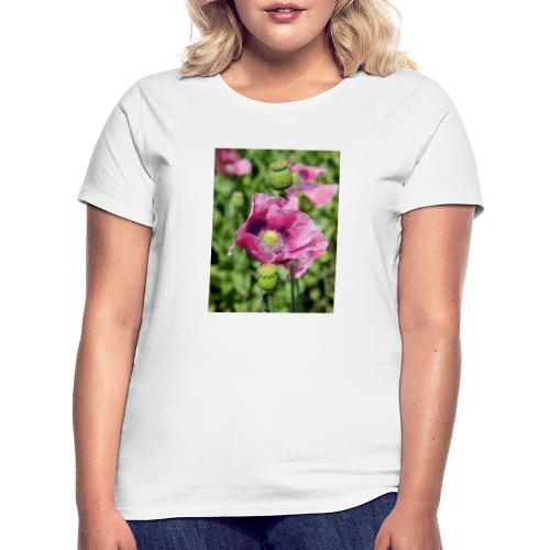 Mohnblüte - Frauen T-Shirt