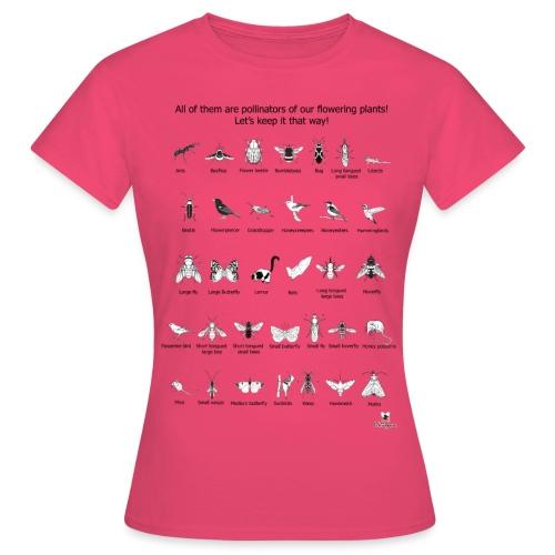 Grupos funcionales de polinizadores - Camiseta mujer