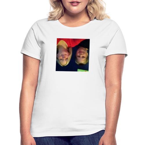 Gammelt logo - Dame-T-shirt