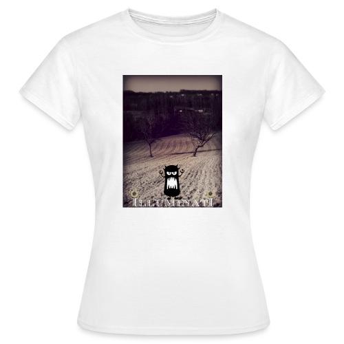 illuminati - T-shirt Femme