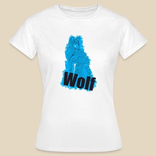 Blue Wolf - T-shirt Femme