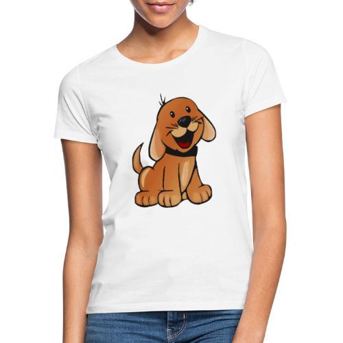 cartoon dog - Maglietta da donna