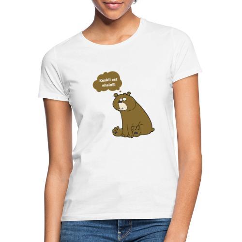Vilain monsieur - T-shirt Femme