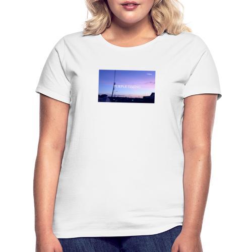 Purple Timing - Women's T-Shirt