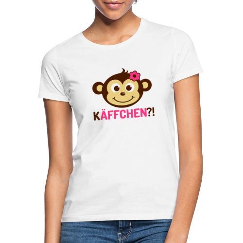 Monkey Käffchen Girl 3 - Frauen T-Shirt