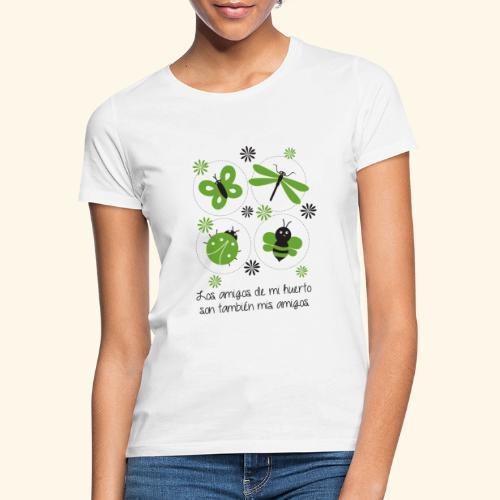 Amigos del huerto y el jardín - Camiseta mujer