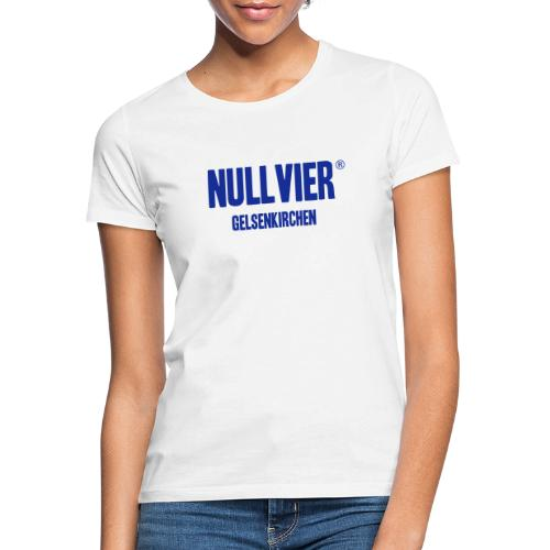 NULLVIER BLUE - Frauen T-Shirt