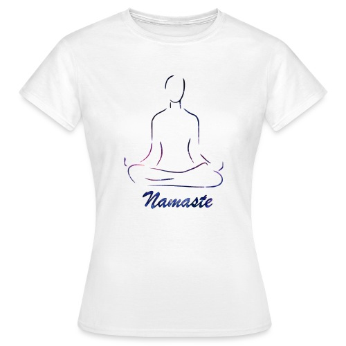 namaste - Camiseta mujer
