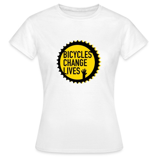 BCL Yellow Cog - Women's T-Shirt