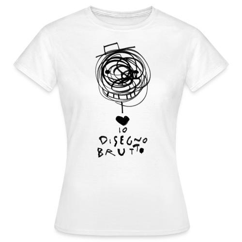 tshirt dis brutto png - Maglietta da donna