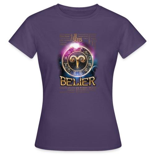 BELIER - T-shirt Femme