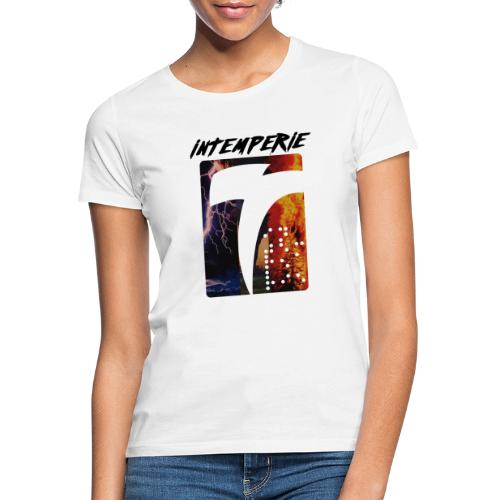 intemperie logo tres estragos - Camiseta mujer