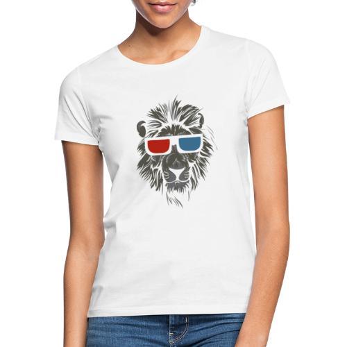 Lion 3D - T-shirt dam