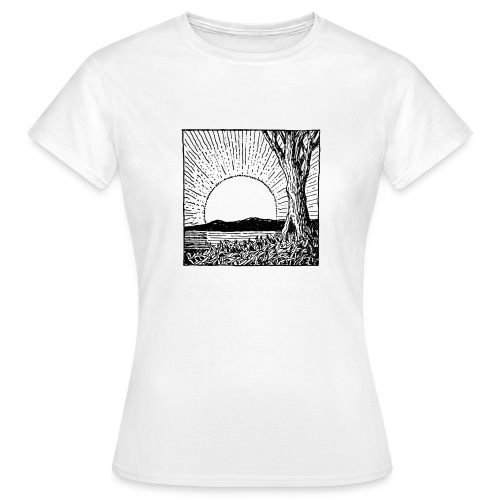 SUNSUNSOL - Camiseta mujer