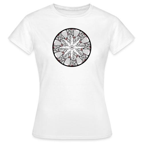 Architecture à l'envers - T-shirt Femme