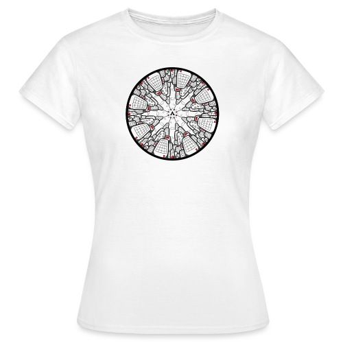 Architectuur Binnenstebuiten - T-shirt Femme