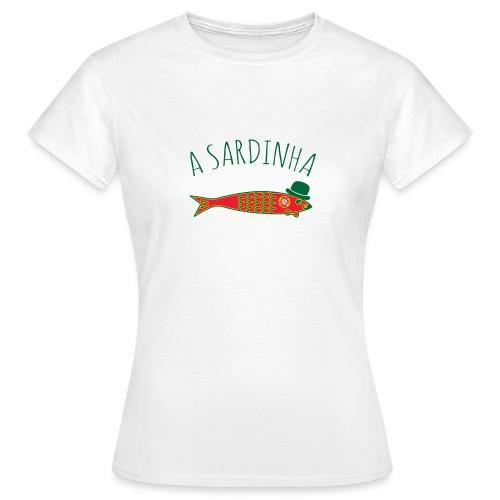 A Sardinha - Bandeira - T-shirt Femme