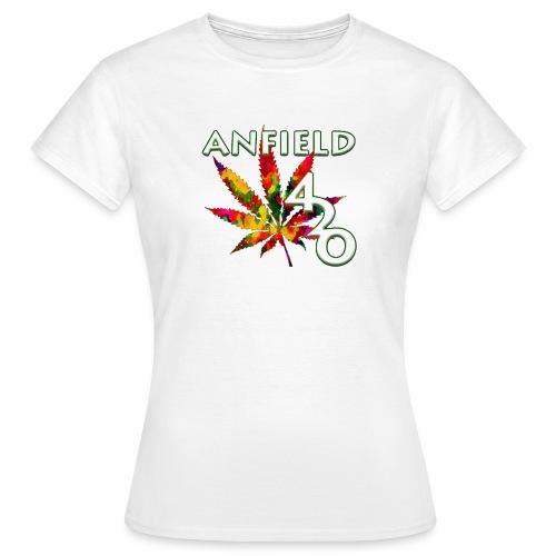 Anfield420 - Women's T-Shirt