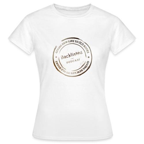 Backlisted T-shirt Women's White - Women's T-Shirt
