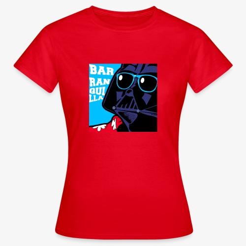 barranquilla dark vader de vacaciones2 - Camiseta mujer