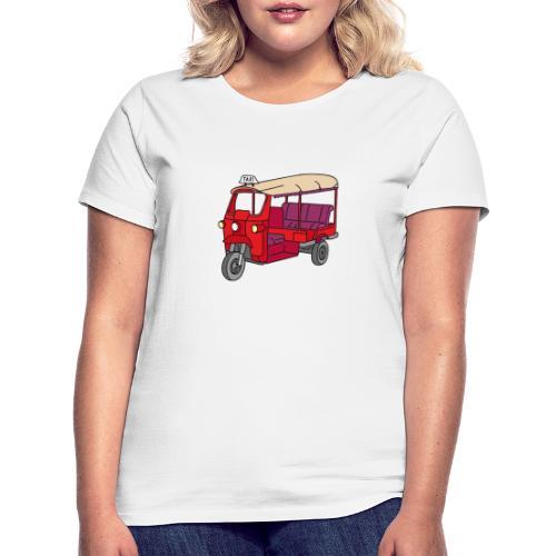 Rote Autorikscha, Tuk-tuk - Frauen T-Shirt