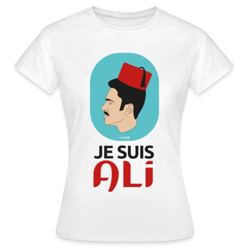Je suis Ali - Apparel gegen Rassismus - Frauen T-Shirt