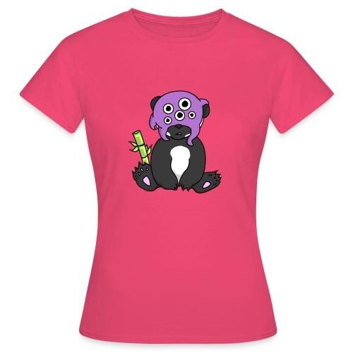 panda procrastinateur png - T-shirt Femme