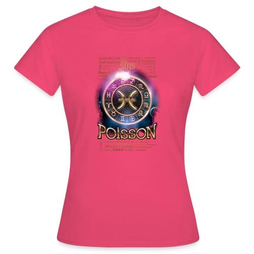 POISSONS - T-shirt Femme