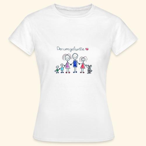 DenUmageFamilie - Dame-T-shirt