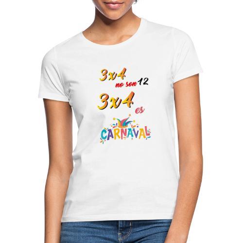 3x4noson12 - Camiseta mujer