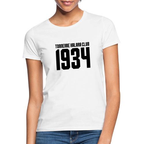 TKC 1934 sérigraphié noir - T-shirt Femme