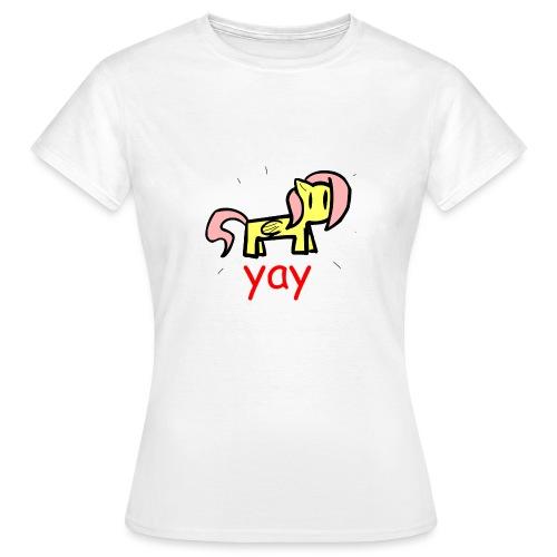 yay Shirt - Women's T-Shirt