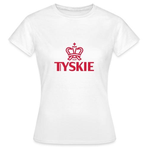 tyskie korona logotyp cze - Frauen T-Shirt