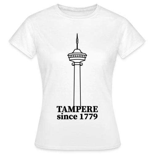 Tampere since 1779 - Naisten t-paita