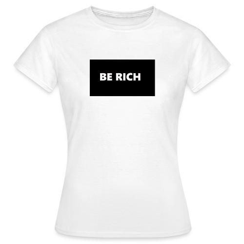 BE RICH REFLEX - Vrouwen T-shirt