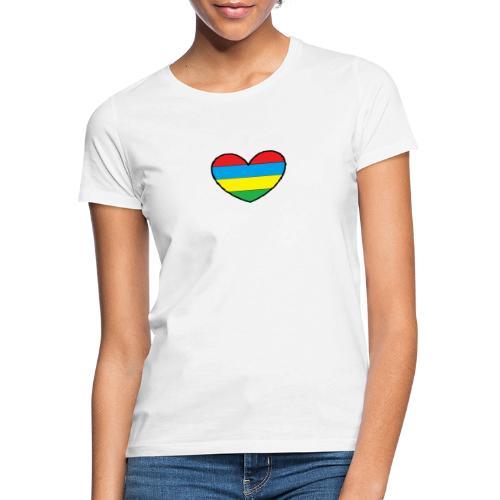 Cœur Maurice - T-shirt Femme
