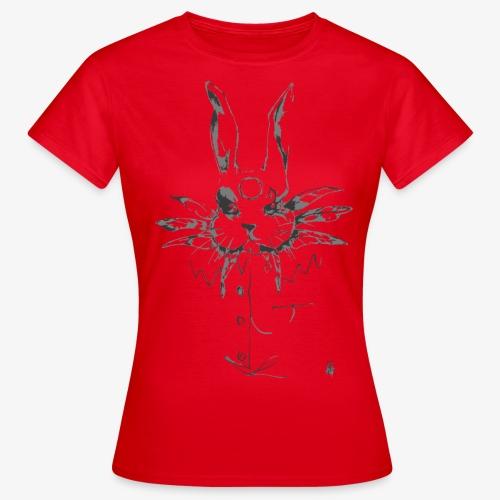 crazy rabbit - Maglietta da donna