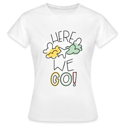 HEREWEGO - Maglietta da donna