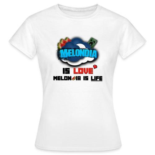 Melondia Miitti Tpaita - Naisten t-paita