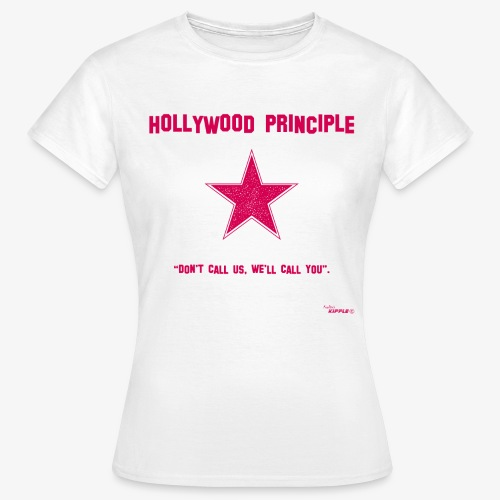 hollywood principle rosa gif - Women's T-Shirt