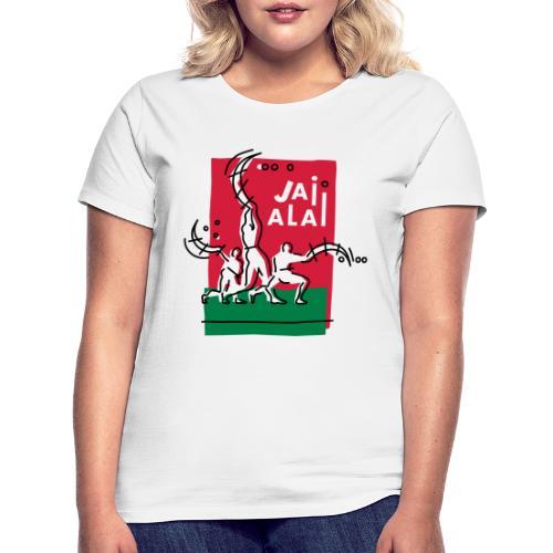 Pelotaris Jai Alai   Cesta Punta Pelota - Camiseta mujer