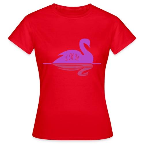 Cygne pink png - T-shirt Femme