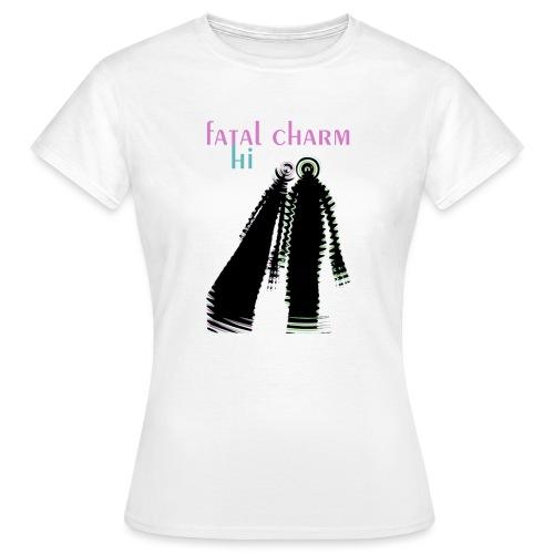 fatal charm - hi album cover art - Women's T-Shirt